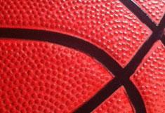 Oberfläche Basketball