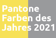 Gelb und Grau, Farbkombination für 2021